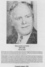 Gaynon, William (Bill) 1893 - 1949