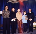 View image taken at awards ceremony