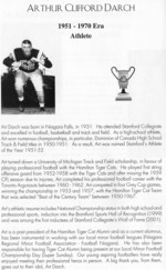 Scan from Sports Wall of Fame Brochure Jan 2003