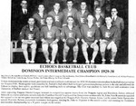 Echoes Basketball Club 1929 - 1930