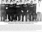 Stamford Collegiate Institute Track & Field Team 1950