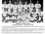 Kerrio Construction Senior Baseball Champions 1957