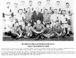 Burroughes Junior Baseball OBA Champions 1940
