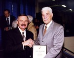 Photograph of Doug Plummer at Induction Ceremony