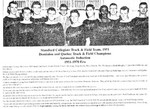 Stamford Collegiate Track & Field Team 1951