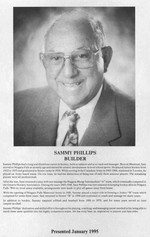 Phillips, Sam (Sammy)