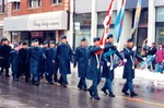 (Thumbnail) Air cadets marching in the Santa Claus parade (image/jpeg)