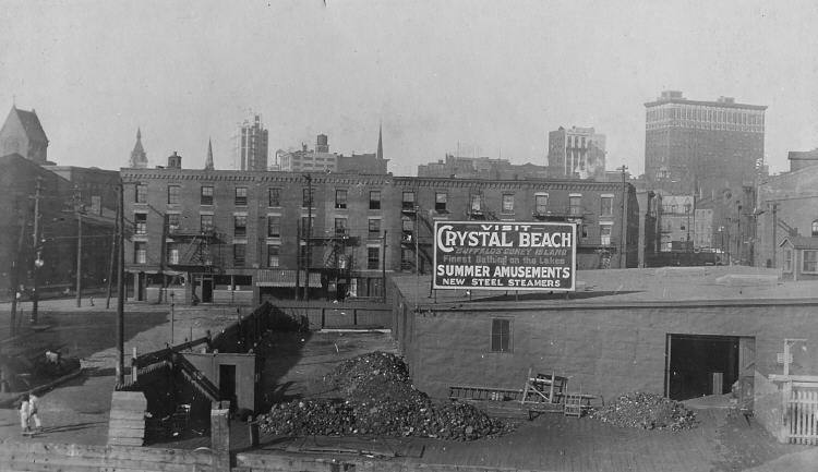 Advertisement for Crystal Beach in Buffalo (image/jpeg)