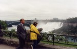 (Thumbnail) Actor Richard Crenna filming the CBS movie of the week Wallflower at Niagara Falls (image/jpeg)