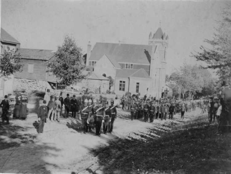 Reinternment Services held at Drummond Hill Cemetery - 1891 (image/jpeg)