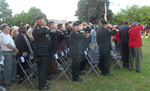 (Thumbnail) The Battle of Lundy's Lane 200th Anniversary Commemorative Event - Crowd During the Playing of Last Post, 02 (image/jpeg)