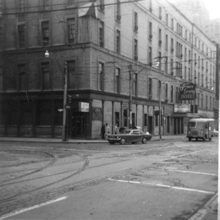 Prince George Hotel, Toronto - 1969 ( just before demolition ) (image/jpeg)