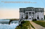 (Thumbnail) Power House of the Electrical Development Co. [Company] of Ontario Ltd., operated by The Toronto Power Co., Ltd., Niagara Falls, Ont. [Ontario], Canada (image/jpeg)
