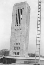 (Thumbnail) Carillon Tower Niagara Falls viewed from the top of the Union Bus Terminal (image/jpeg)
