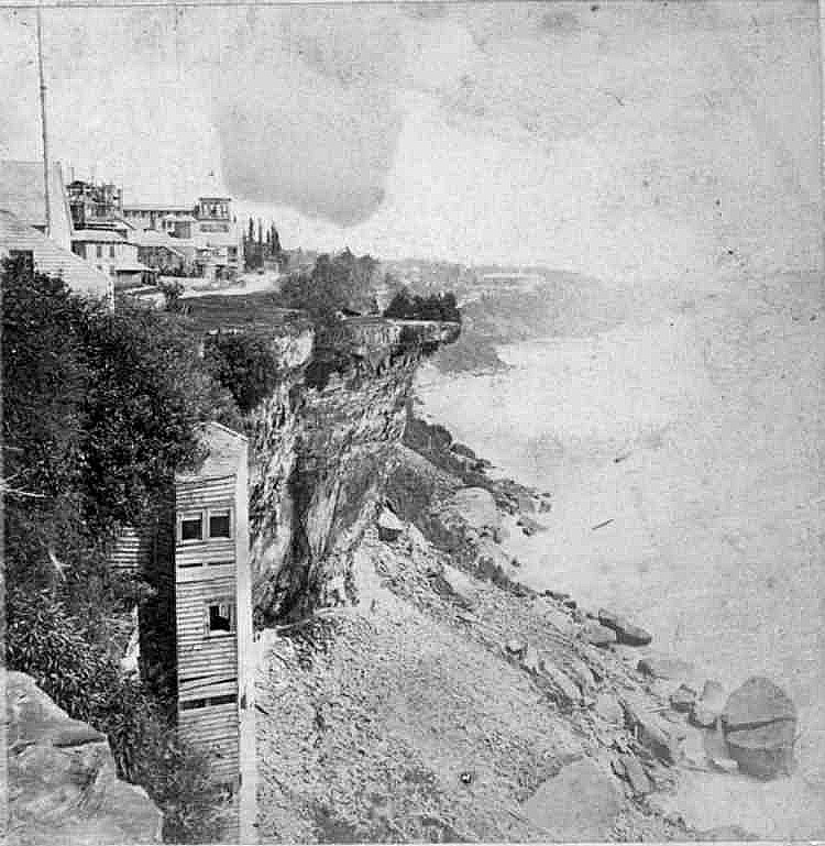 Biddle Stairway and Table Rock by the Horseshoe Falls Niagara Falls (image/jpeg)
