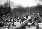 (Thumbnail) World War II parade in Victoria Park on the day Germany signed the unconditional surrender (image/jpeg)