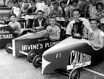 (Thumbnail) 4th annual Optimist Club Soap Box Derby Drummond Hill 1961 - presentation to winners (image/jpeg)