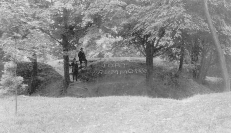 The site of Fort Drummond at Queenston Heights Park (image/jpeg)