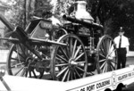 (Thumbnail) 1906 Antique Steam Fire Pumper in Parade at Port Colborne Volunteer Fire Company (image/jpeg)