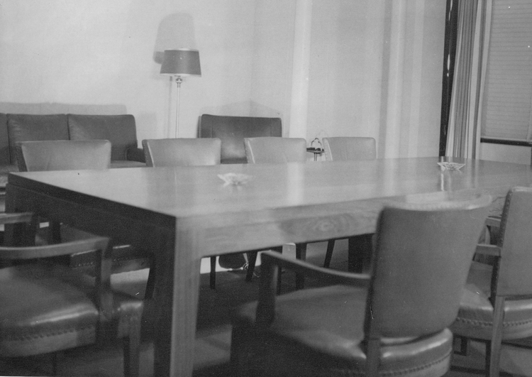 Board room located in the Carillon Tower at the Canadian Terminal of the Rainbow Bridge Niagara Falls (image/jpeg)