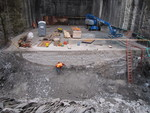 (Thumbnail) Niagara Tunnel Project - Concrete is used to create an even floor for this area. (image/jpeg)