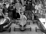 (Thumbnail) 2nd annual Optimist Club Soap Box Derby Drummond Hill 1959 - presentation to winners (image/jpeg)