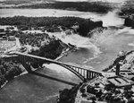 (Thumbnail) Aerial View of Rainbow Bridge at Niagara Falls (image/jpeg)