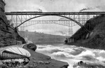 (Thumbnail) The New Steel Arch and Cantilever Bridge spanning the Niagara Gorge (image/jpeg)