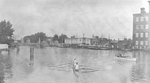 (Thumbnail) Welland Ship Canal - Rowing Competition at Port Dalhousie (c.1920's) (image/jpeg)