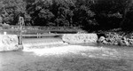 (Thumbnail) Niagara developement weir at the Dufferin Island channel - measuring water used in test model of proposed intakes (image/jpeg)