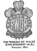 (Thumbnail) Insignia of the Princess of Wales Own Regiment  - Kingston Ontario (image/jpeg)