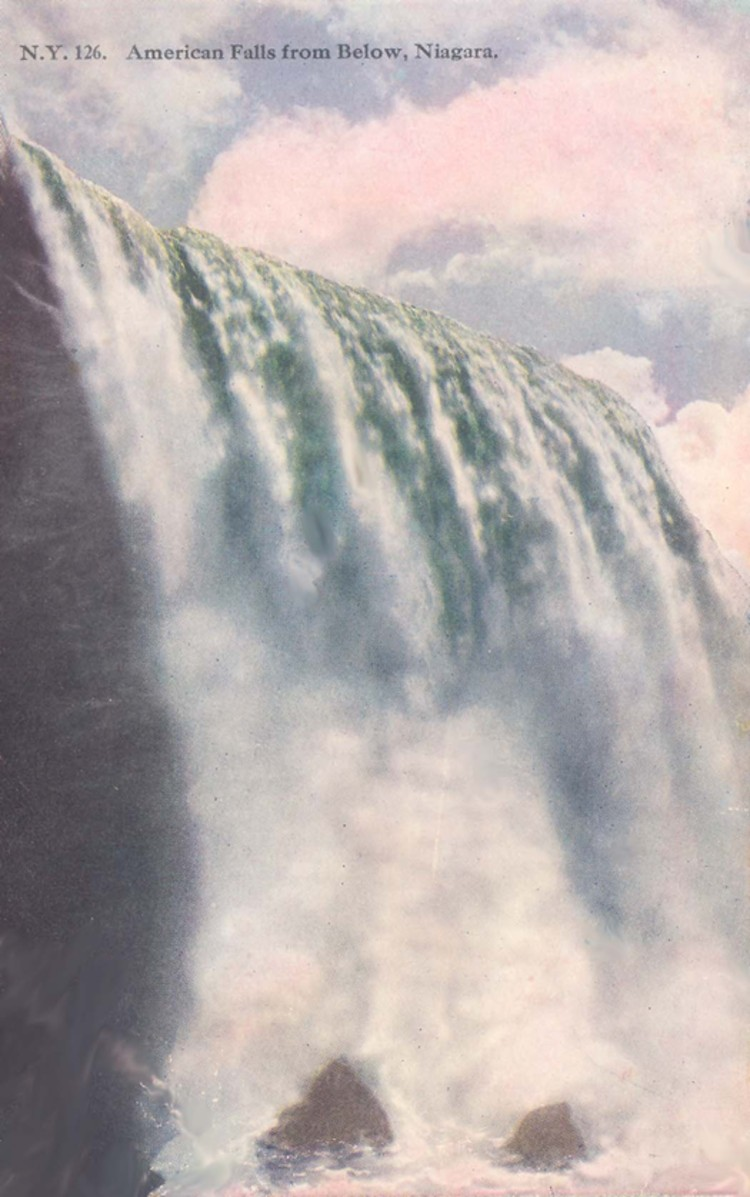 American Falls from Below, Niagara Falls (image/jpeg)