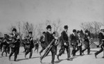 (Thumbnail) Band and soldiers marching in parade in the village of Chippawa (image/jpeg)