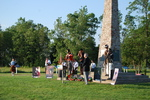 (Thumbnail) Battle of Chippawa Commemorative Service, 2011 - Contingent Bows Heads in Prayer (image/jpeg)