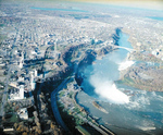 (Thumbnail) Aerial View of Niagara Falls, Ontario and the Upper Niagara River (image/jpeg)