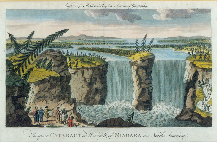 The Great Cataract or Waterfall of Niagara in North America (image/jpeg)
