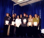 (Thumbnail) 14th annual Sports Wall of Fame Induction Ceremony - A N Myer Girls Soccer Team 1985 OFSAA Champions (image/jpeg)