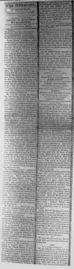 (Thumbnail) The Advocate : Newspaper from Queenston, Ontario - 1824 (image/jpeg)