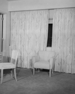 (Thumbnail) Bedroom at the Carillon Tower at the Canadian Terminal of the Rainbow Bridge at Niagara Falls (image/jpeg)