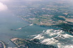 (Thumbnail) Aerial View of the Upper Niagara River, Chippawa, and the International Control Dam (image/jpeg)