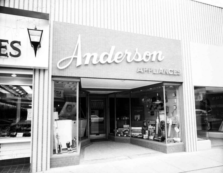 Anderson Appliances located on Queen Street. (image/jpeg)