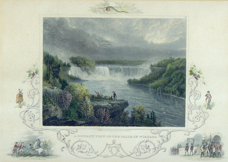A Distant View of the Falls of Niagara (image/jpeg)