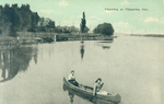 (Thumbnail) Canoeing at Chippawa Ont [Ontario] (image/jpeg)