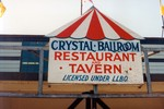 (Thumbnail) Advertising sign for the Crystal Ballroom Restaurant and Tavern at Crystal Beach Amusement Park Ontario (image/jpeg)