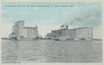 (Thumbnail) Government Elevator and Maple Leaf Milling Co [Company] Port Colborne Ont [Ontario] (image/jpeg)