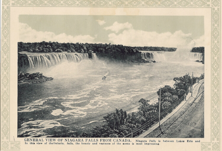 General View of Niagara Falls from Canada (image/jpeg)