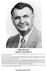 (Thumbnail) Niagara Falls Sports Wall of Fame - Fred Ruish Athlete Track and Field (image/jpeg)