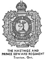 (Thumbnail) Insignia of the Hastings and Prince Edward Regiment - Trenton Ontario (image/jpeg)