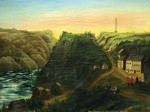 """(Thumbnail) View of Queenston and Brock's Monument (""""Cliff Village"""") (image/jpeg)"""