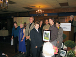 (Thumbnail) City of Niagara Falls Summer Trillium Awards - Presentation Ceremony Christ Church accepting the award for the church category (image/jpeg)